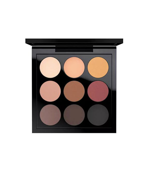 MAC cosmetics Eyeshadow X 9: Semi-Sweet Times Nine - matte eyeshadow palette