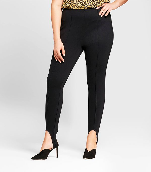 Plus Size Stirrup Leggings