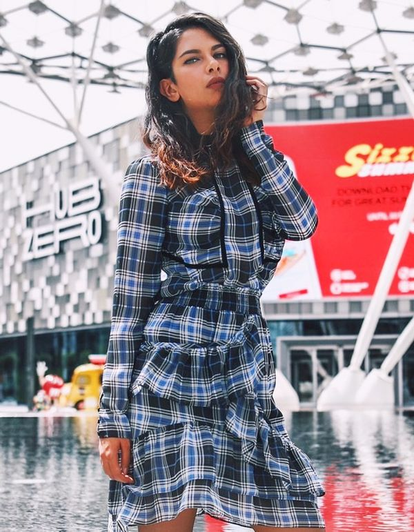 Day 12: Wear plaid in an unexpected way.