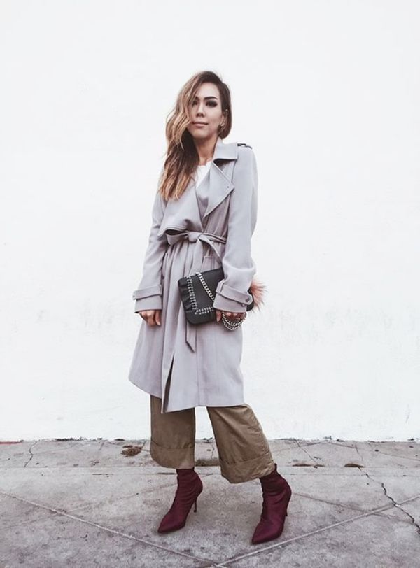 Day 16: Update your outerwear with an oversize trench coat.