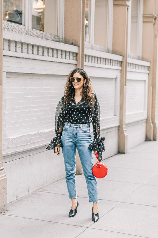 Day 23: Test out the polka-dot trend.