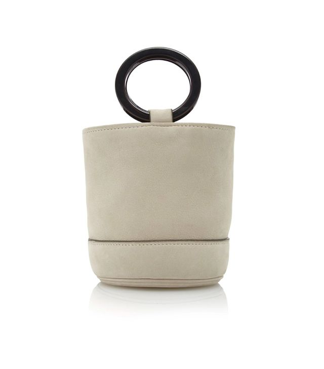 Bonsai 15CM Nubuck Bucket Bag