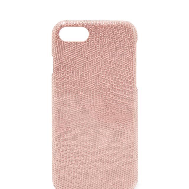 Lizard-effect Leather Iphone 7 Case