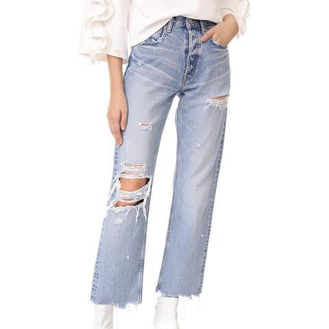 MV Loa Wide Leg Jeans