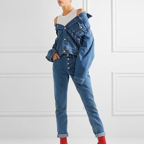 Swing Oversized Denim Jacket