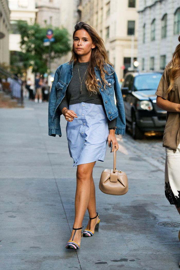"Miroslava Duma Wearing Gabriela Hearst Bag ""Nina'"