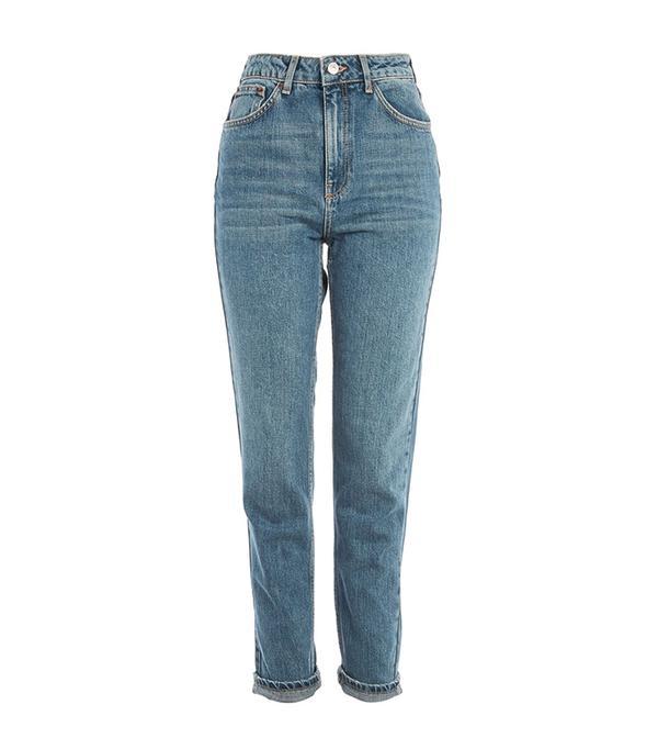 MOTO Authentic Blue Mom Jeans