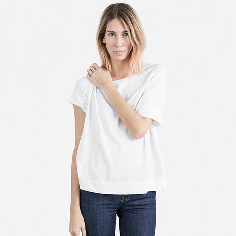 Cotton Drop-Shoulder T-Shirt
