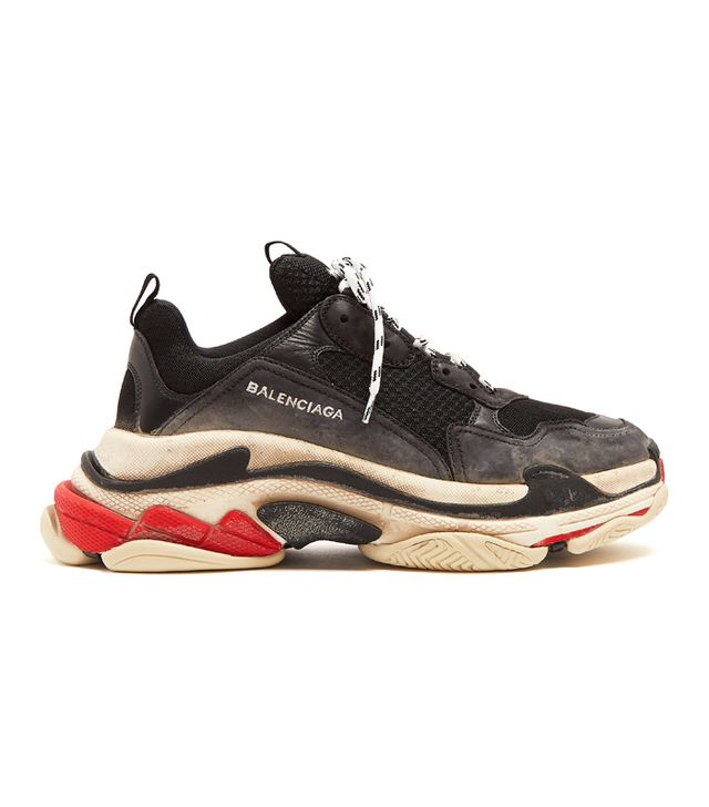 Triple S Sneakers Balenciaga: Balenciaga Triple S Low-Top Trainers