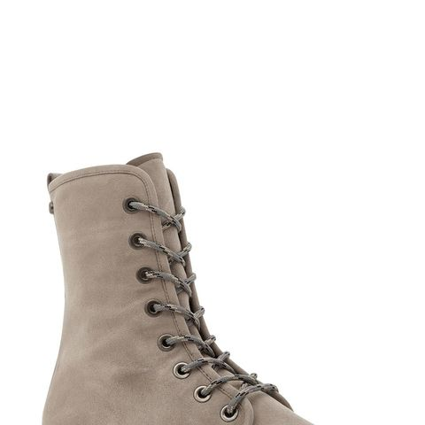 Metermaid Lace-Up Suede Boots