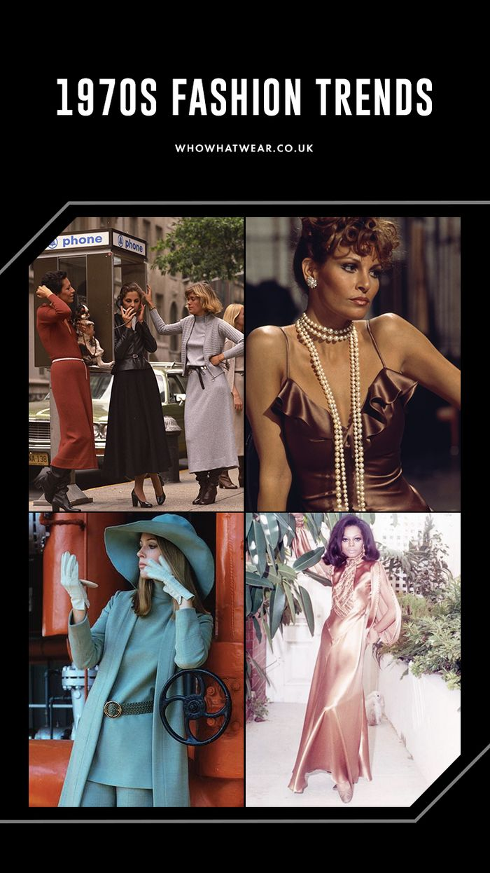 1970s fashion trends: key seventies looks from pearls and satin to boho dresses
