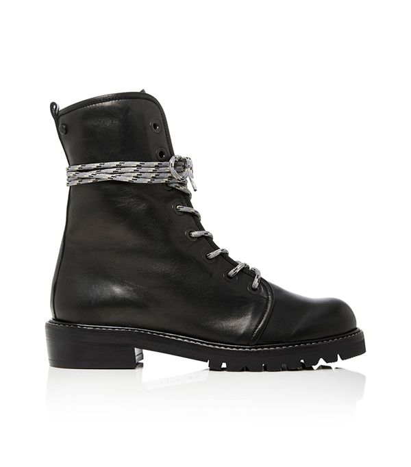 Metermaid Lace-Up Leather Boots