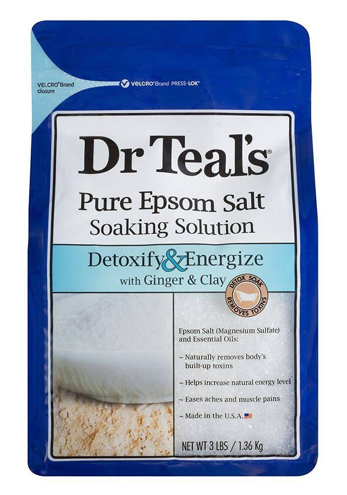 Pure Epsom Salt Soaking Solution by Dr. Teal's