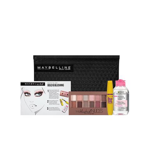 NY Minute Makeup Remover Gift Set Bold & Blushing