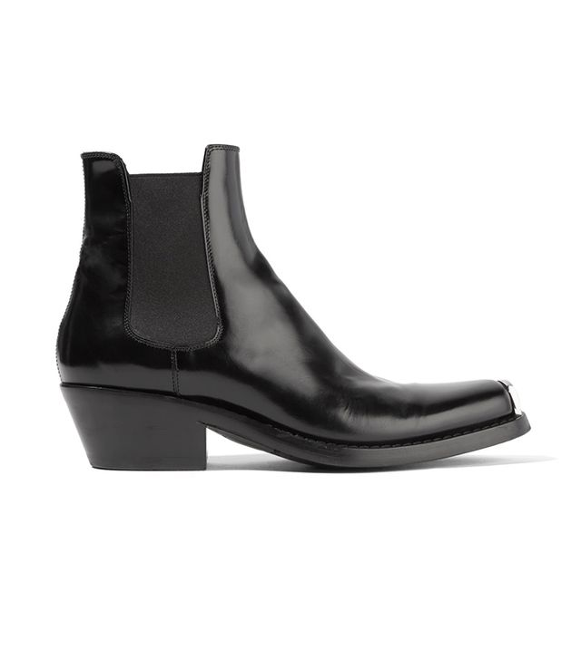 Claire Leather Ankle Boots