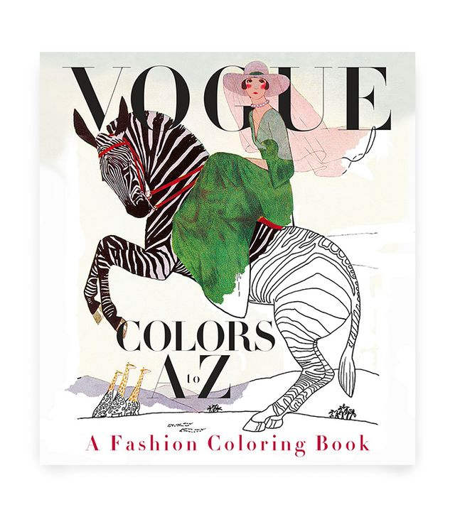 Valerie Steiker Vogue Colors A to Z: A Fashion Coloring Book