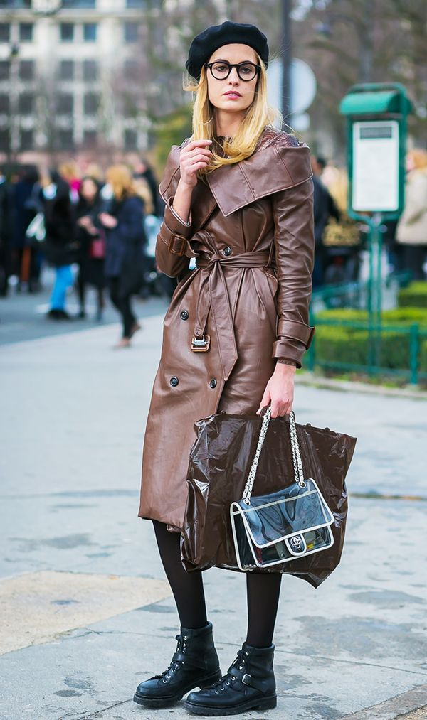 How to Wear Black Tights With All Your Dresses   WhoWhatWear