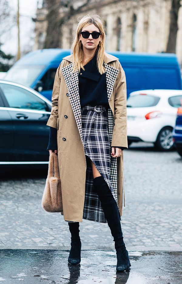8 Plaid Skirt Outfits To Try This Fall Whowhatwear