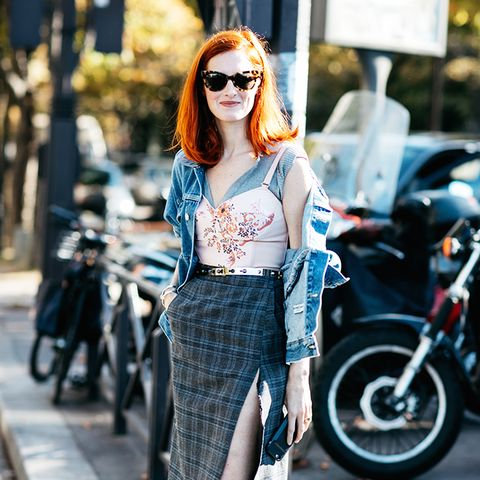 8 Plaid Skirt Outfits to Try This Fall