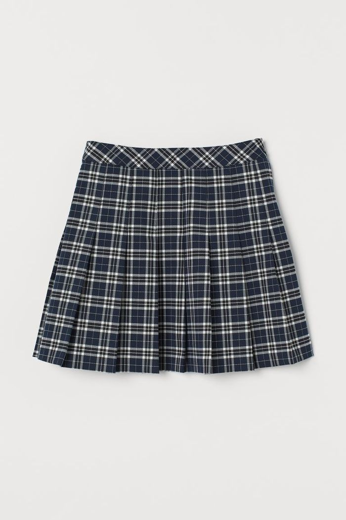 11 Plaid Skirt Outfits To Try This Season Who What Wear