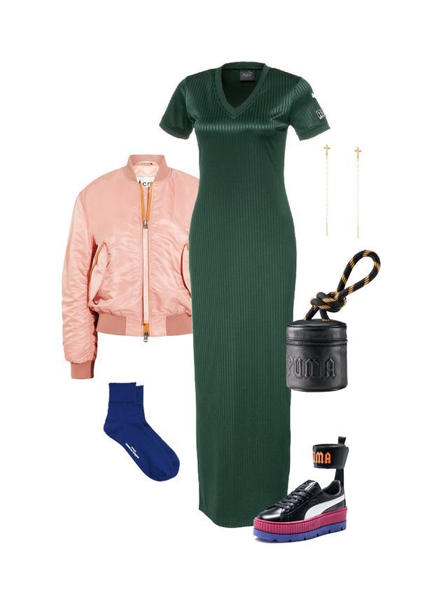 fenty puma outfit idea