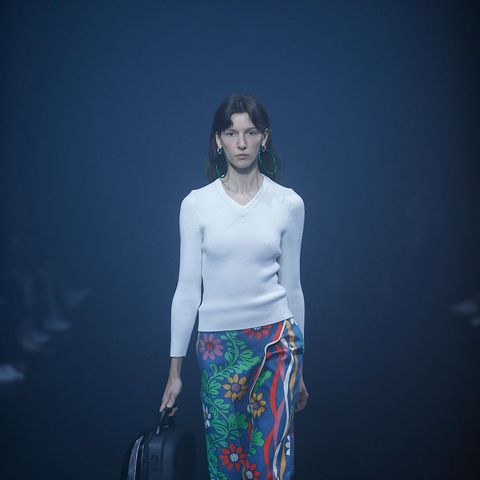 Brace Yourself: Balenciaga Is Bringing Back This Legging Trend