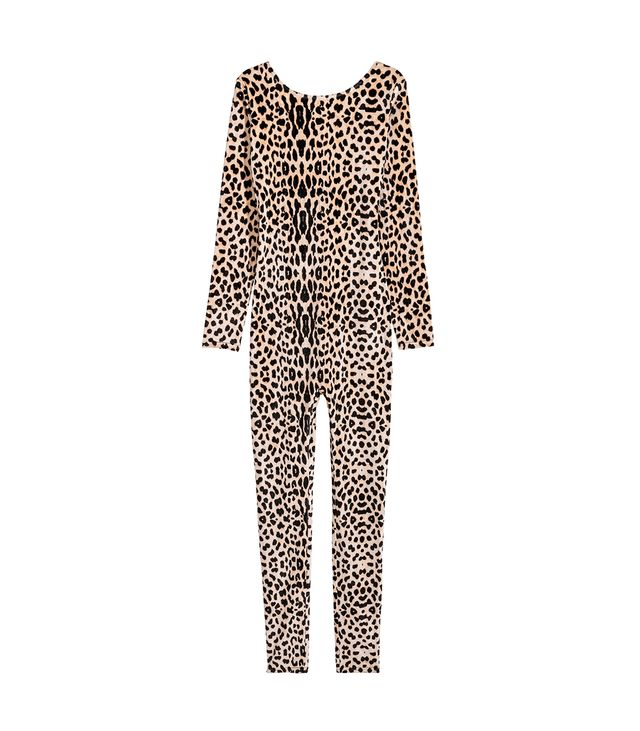 H&M Velour Leopard Costume