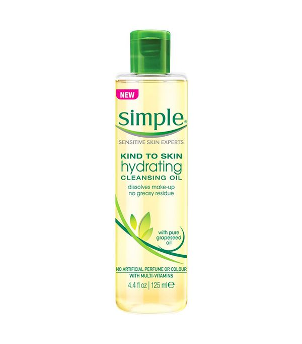 Best drugstore cleanser: Simple Hydrating Cleansing Oil
