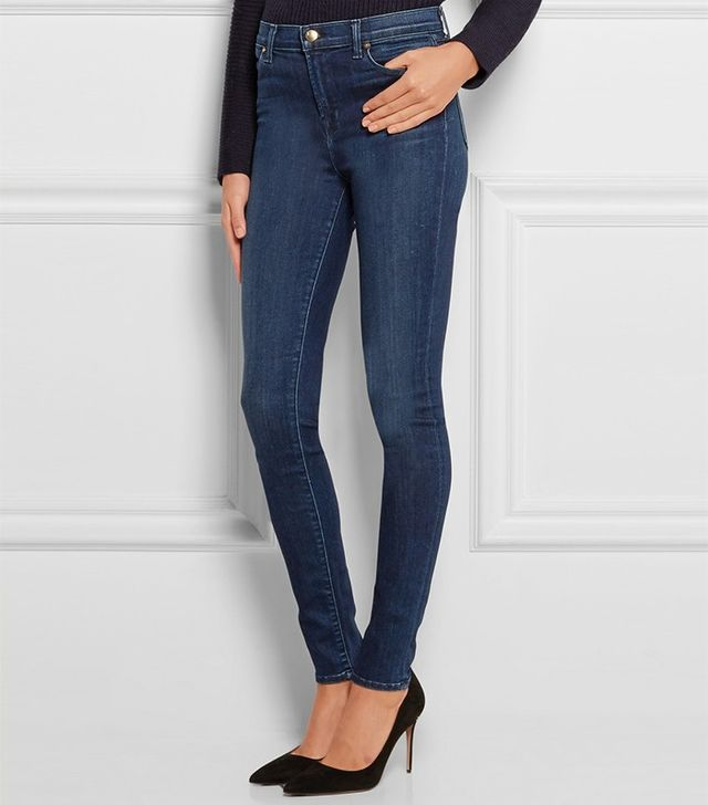Best Jeans for Big Butts: J Brand Maria High-Rise Skinny Jeans