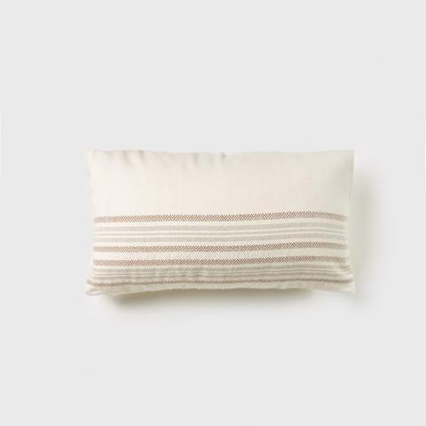 Alpaca Stripe Rectangle Pillow
