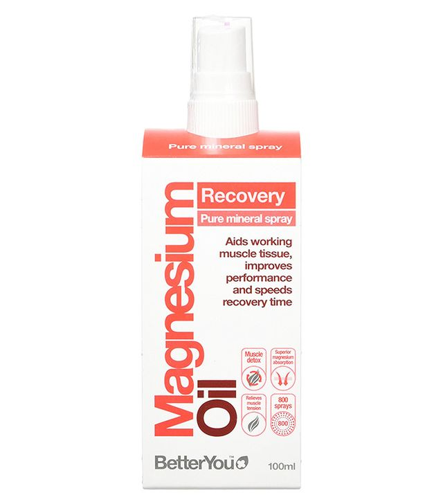 Period pain: Better You Magnesium Oil Sports Spray