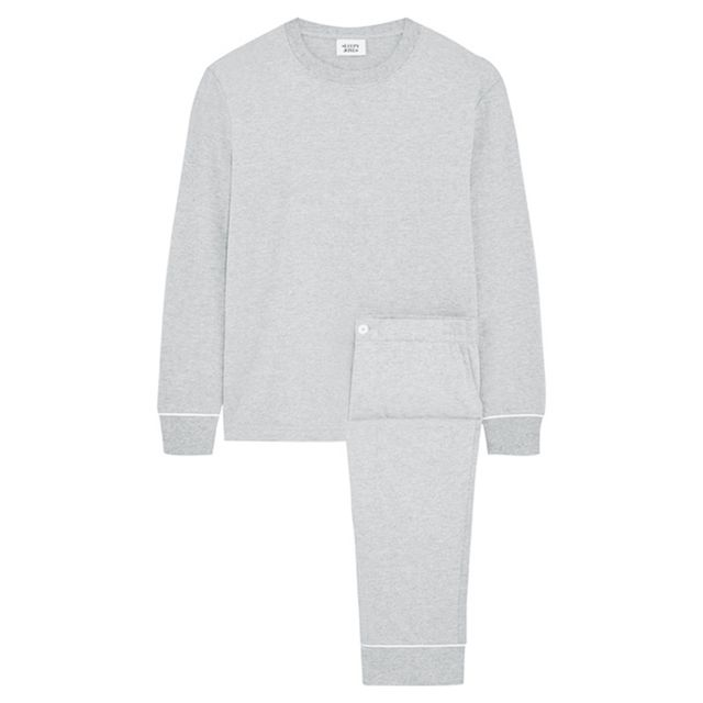 Period pain: Sleepy Jones Stevie Cotton Blend Jersey Pajama Set