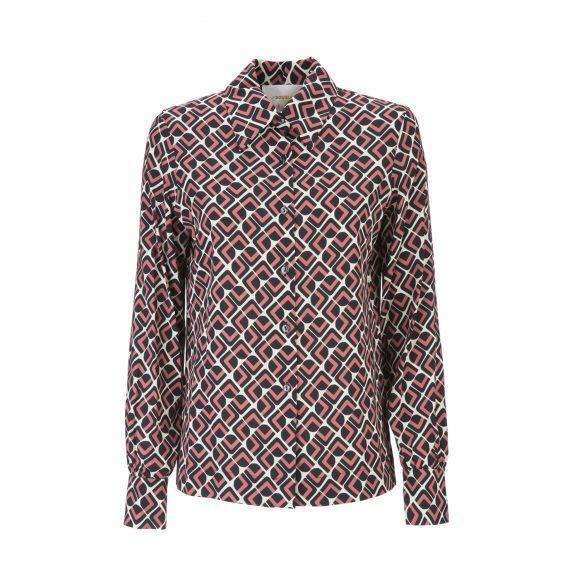 La DoubleJ Editions Domino Rosa Slim Shirt