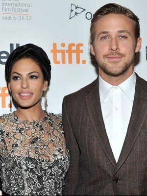 Eva Mendes and Ryan Gosling Coordinated Their Going-Out Looks