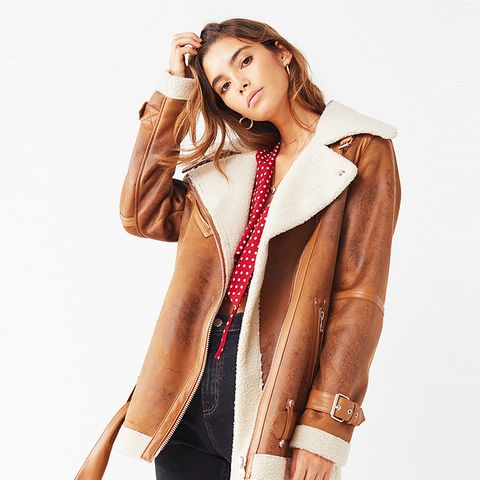 Oversized Faux Sherpa Jacket