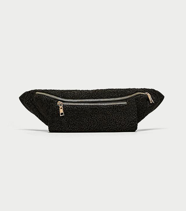 Zara Fleece Belt Bag