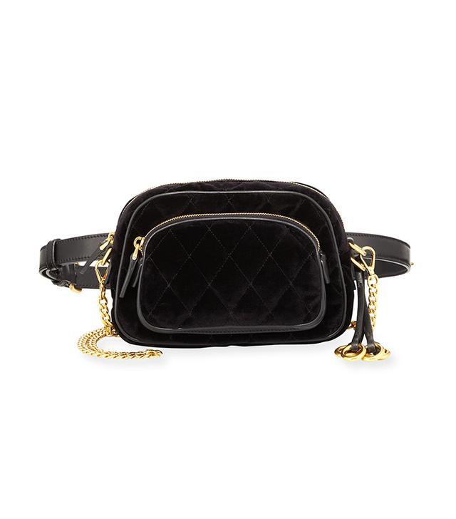 Cahier Small Velvet Convertible Belt Bag