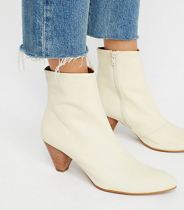 Leather Aspect Heel Boot by FP Collection at Free People