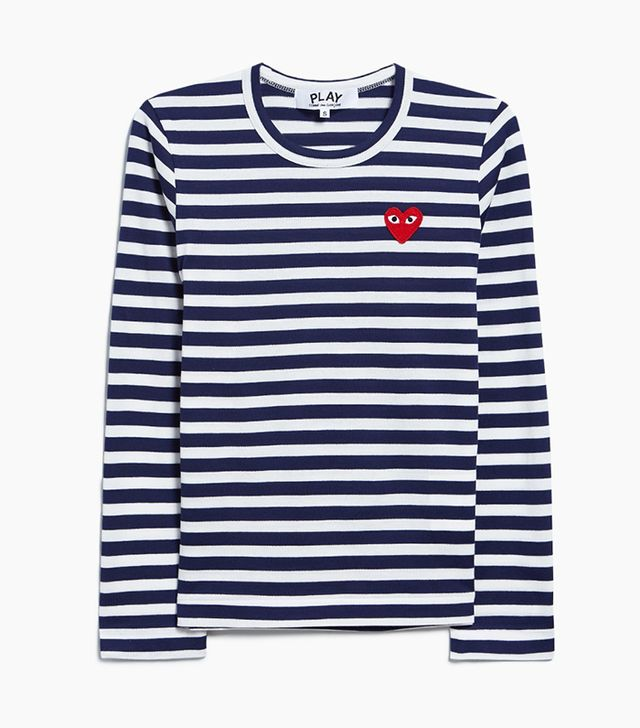 Play Striped T-Shirt in Navy