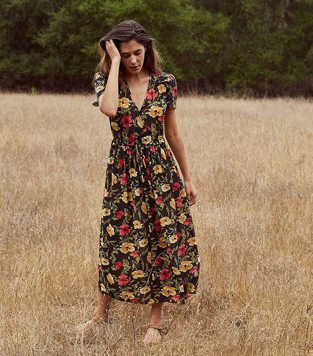 Christy Dawn The Dawn Dress in Midnight Blooms