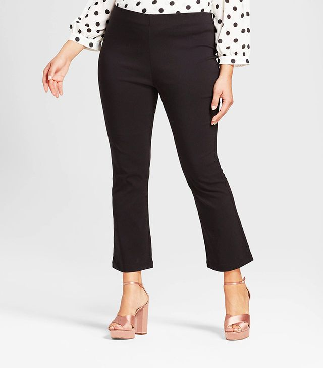 Who What Wear Crop Flare Pants