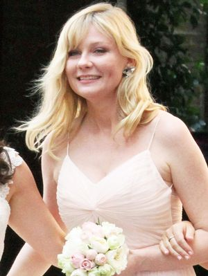 Kirsten Dunst Just Wore the Prettiest Bridesmaid Dress in Italy