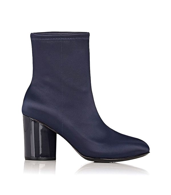 Women's Dylan Stretch-Satin Ankle Boots
