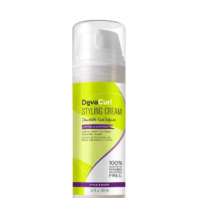 DevaCurl Styling Cream Touchable Curl Definer - how to add volume to fine hair