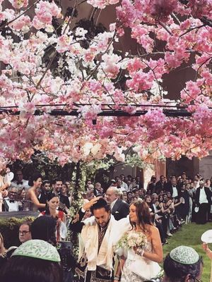This Is What It Looks Like When a Fashion It Girl Gets Married at Versailles