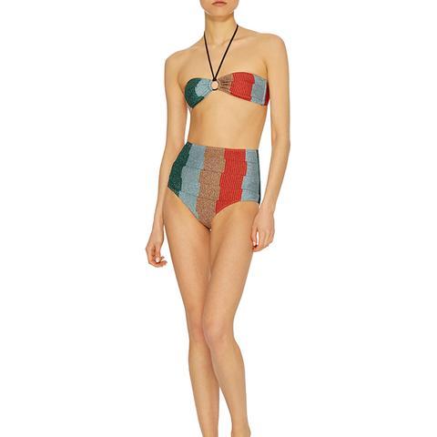 Greca Metallic Bikini