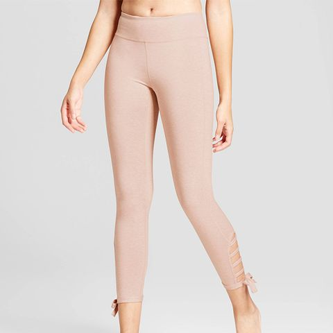 7/8 Comfort Side Tie Capri Leggings