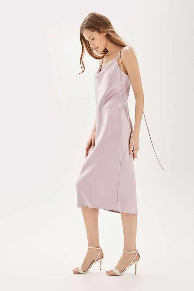 Topshop Cowl Neck Slip Dress