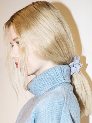 Sorry, But Scrunchies Are Officially a Thing Again