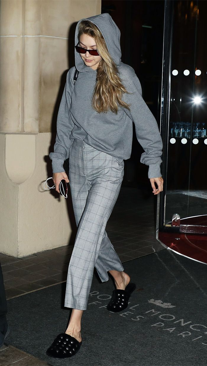 Gigi Hadid H&M Checked trousers